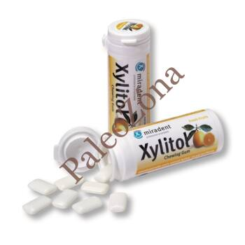 Xylitol rágógumi friss gyümölcs 30db/30g