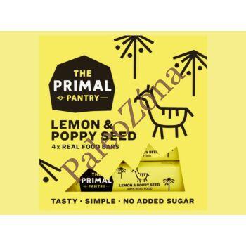 Snack Multipack Citrom-Mák 4*30 gr -  The Primal Pantry