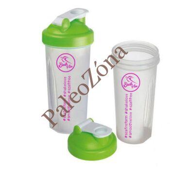 Shaker átlátszó-zöld 600ml - Szafi Free