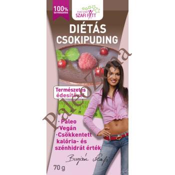 Diétás csokipuding 70g - Szafi Reform