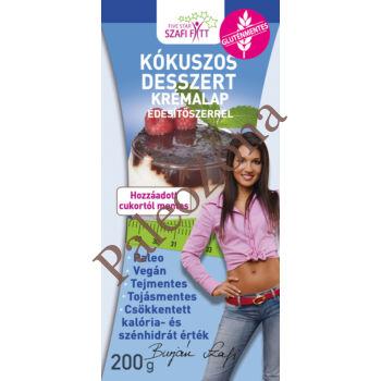 Kókuszos desszert krémalap 200g - Szafi Reform