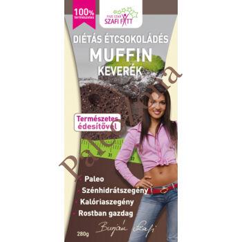Diétás étcsokoládés Muffinkeverék 280g-Szafi