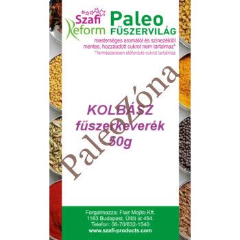 Kolbász fűszerkeverék 50gr- Szafi Reform