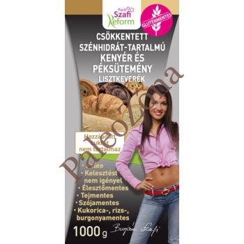 Csökkentett CH-tartalmú PALEO kenyér és  péksütemény Lisztkeverék 1kg - Szafi Reform