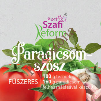 Fűszeres paradicsom szósz 290g - Szafi Reform