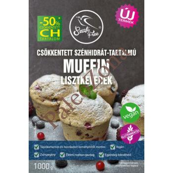 Csökkentett szénhidrát-tartalmú muffin és piskóta lisztkeverék 1000g-Szafi Free