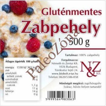 Gluténmentes zabpehely 500g - N&Z