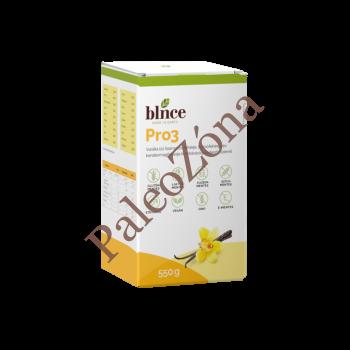 Blnce Pro3Vanília ízű növényi fehérje 550g