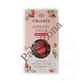 Ropogós müzli eper&kakaó 300g - Viblance