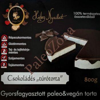 Fagyasztott csokoládés túrótorta 800g - HNY
