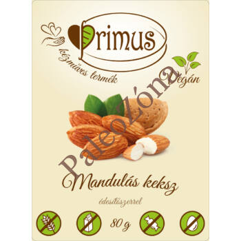 Mandulás keksz 80g - Primus