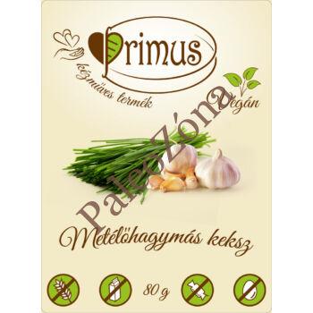 Metélőhagymás keksz 80g - Primus