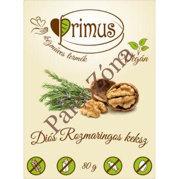 Diós-rozmaringos keksz 80g - Primus