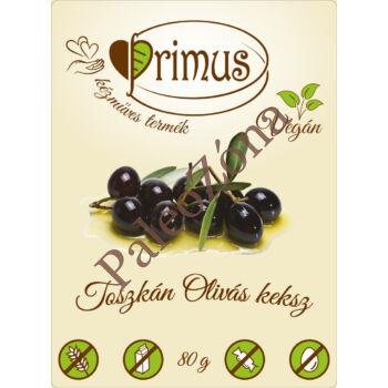 Toszkán olívás keksz 80g- Primus