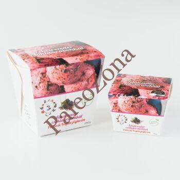 Jégkrém Feketeszeder csokidarabokkal 380g-ALL IN