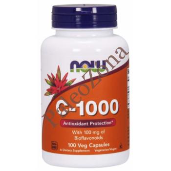 C-1000 vitamin 100db veg caps - NOW