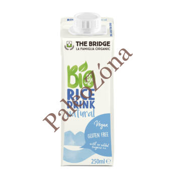 The Bridge BIO Rizsital natur 250ml