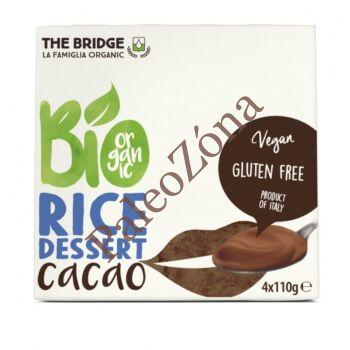 Kakaós rizs desszert 4x110g-The Bridge