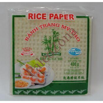Ázsiai rizspapír 22x22 cm 400g