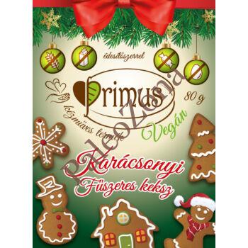 51d34cdc67 Karácsonyi fűszeres keksz 80g - Primus - Paleo webshop - paleozona ...