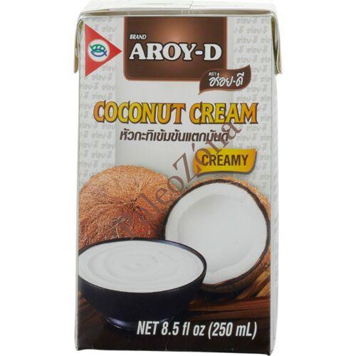 Kókuszkrém 250ml-Aroy-D