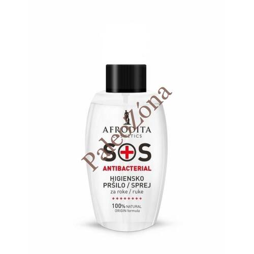 SOS antibakteriális kézfertőtlenítő 50ml - Afrodita