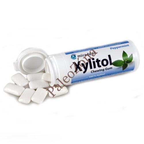 Xylitol rágógumi Borsmenta 30db/30g