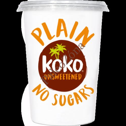 Kókuszjoghurt Natúr Cukormentes 500g - KOKO