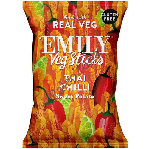 Édesburgonya chips 35g Thai Chilli- Emily