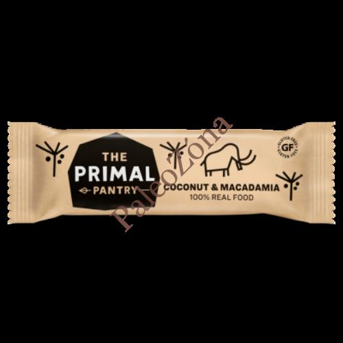 Snack szelet kókusz-makadámia 45g - The Primal Pantry