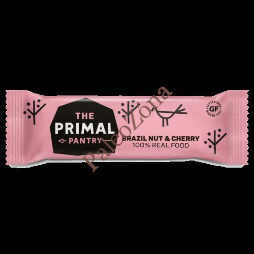 Snack szelet brazildió-cseresznye 45g - The Primal Pantry