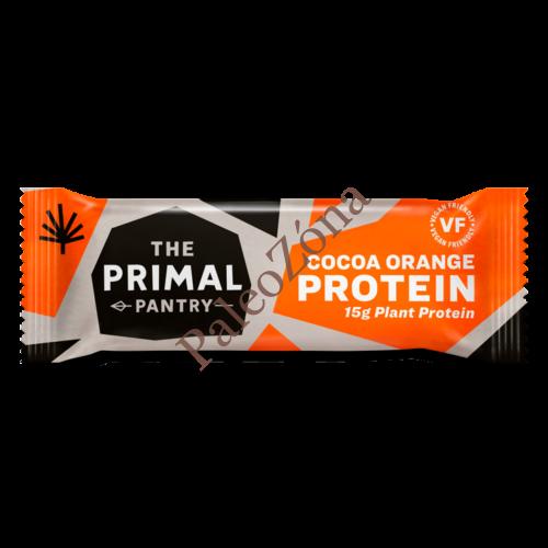 Protein szelet kakaó-narancs 55g - The Primal Pantry