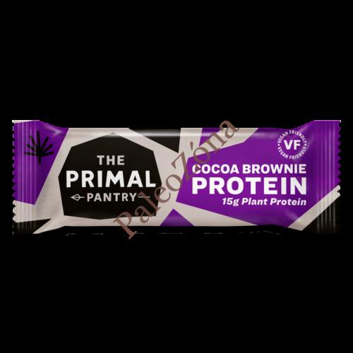 Protein szelet kakaó-brownie 55g - The Primal Pantry