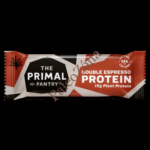 Protein szelet dupla kávé 55g - The Primal Pantry