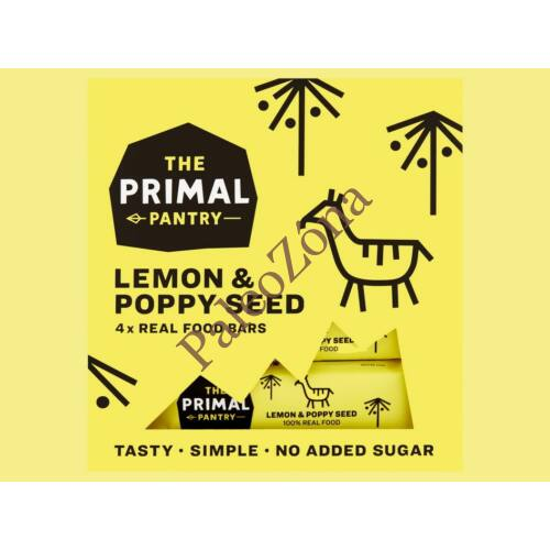 Snack Multipack Citrom-Mák 4*30 gr -  The Primal Pantry