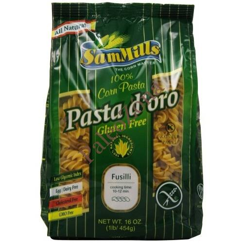 Pasta d`oro száraztészta ORSÓ/FUSILLI 500g gluténmentes