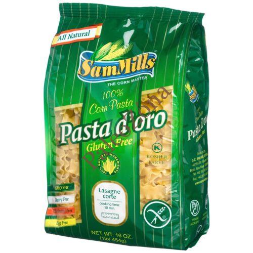 Pasta d`oro száraztészta 500g FODROS/LASAGNE CORTE