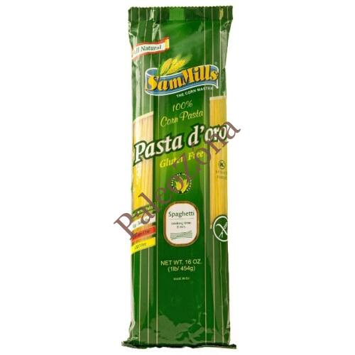 Pasta d`oro Spagetti tészta 500g gluténmentes
