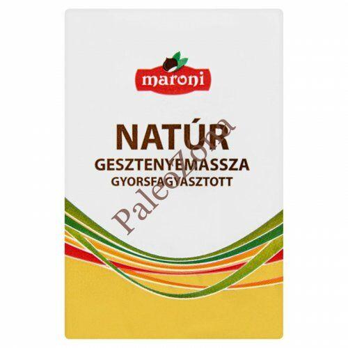 Gesztenyemassza natur 200g - Maroni