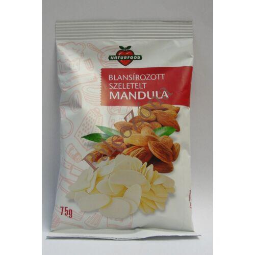 Szeletelt mandula 75g-Naturfood
