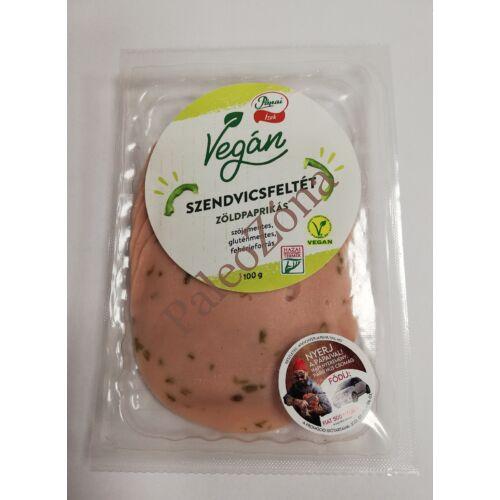 Zöldpaprikás szendvicsfeltét 100g-Pápai ízek