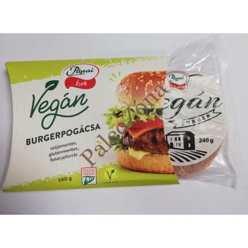 Fagyasztott vegán burger pogácsa 240g - Pápai ízek