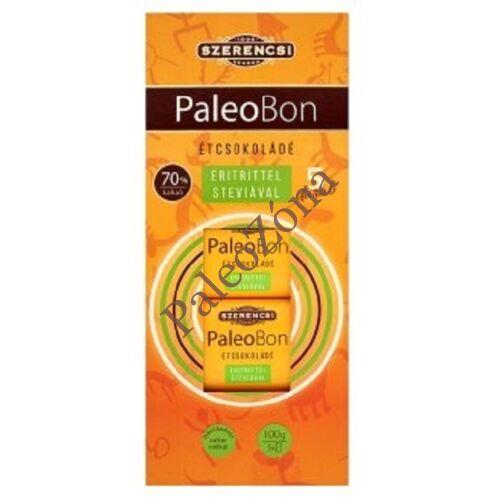 PaleoBon étcsokoládé 60g 5db-os tábla-Szerencsi
