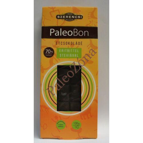 PaleoBon étcsokoládé tábla 100g-Szerencsi