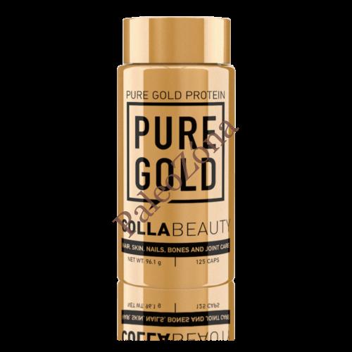 CollaBeauty - Kollagén és hialuronsav-kapszula (125 db) - Pure Gold
