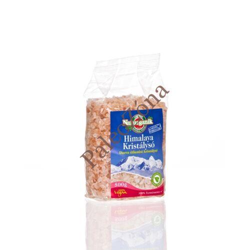 Natur Himalaya só, durva, rózsaszín 500g-Naturganik