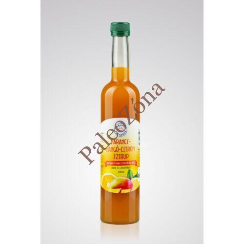 Narancs-mangó-citrom szirup 500ml- Bálint Csemegék