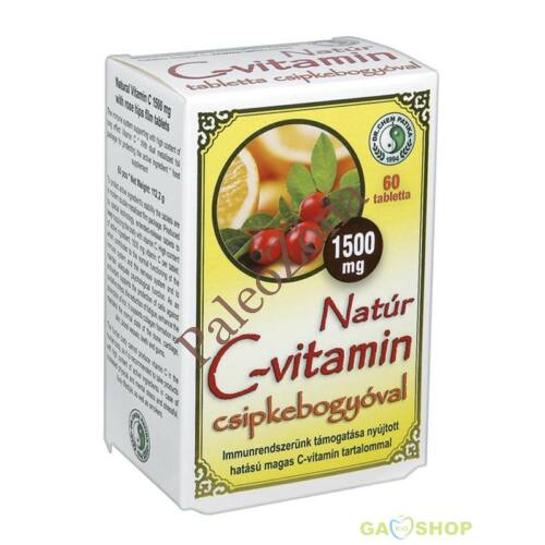 C-vitamin csipkebogyóval 1500mg 60 db - Dr.Chen