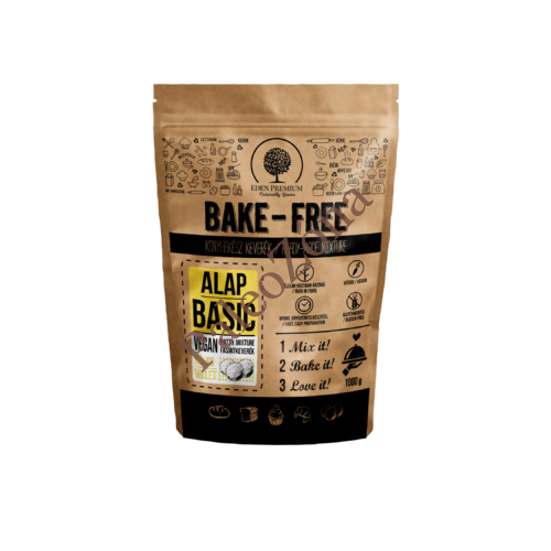 Bake Free Alap Basic Fasírt keverék köleses 1kg - Éden Premium
