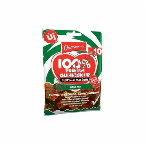 100% természetes gumicukor 80g- Goldmix- Obstermann`s